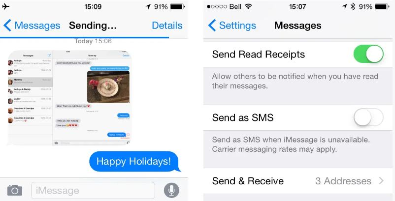 Is it possible to 'unsend' or 'cancel' sent iMessages?