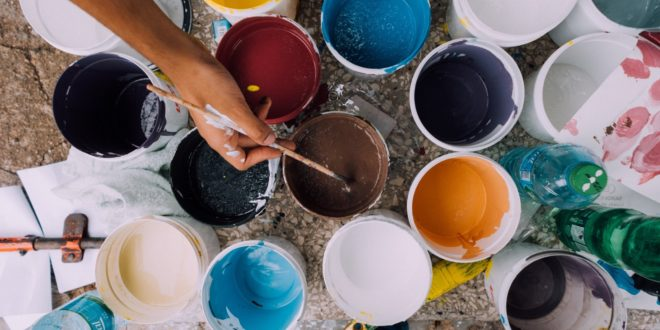 The Complete Guide to Painting Styrofoam and Making It Hard