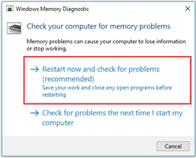 how to fix Stop Code Memory Management