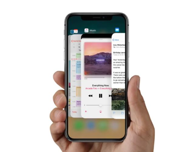 How do you close apps on the iPhone 12 and iPhone 12 Pro
