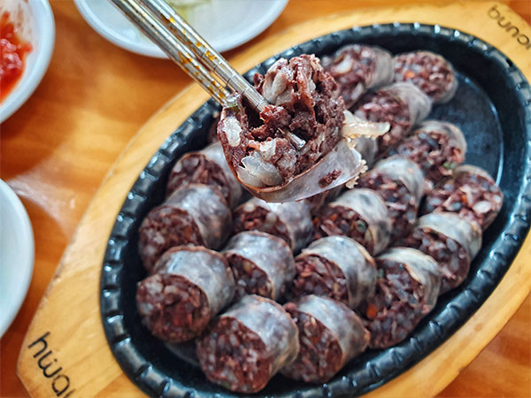 Which Dessert Shares Its Name With a Korean Food Made With Intestines?