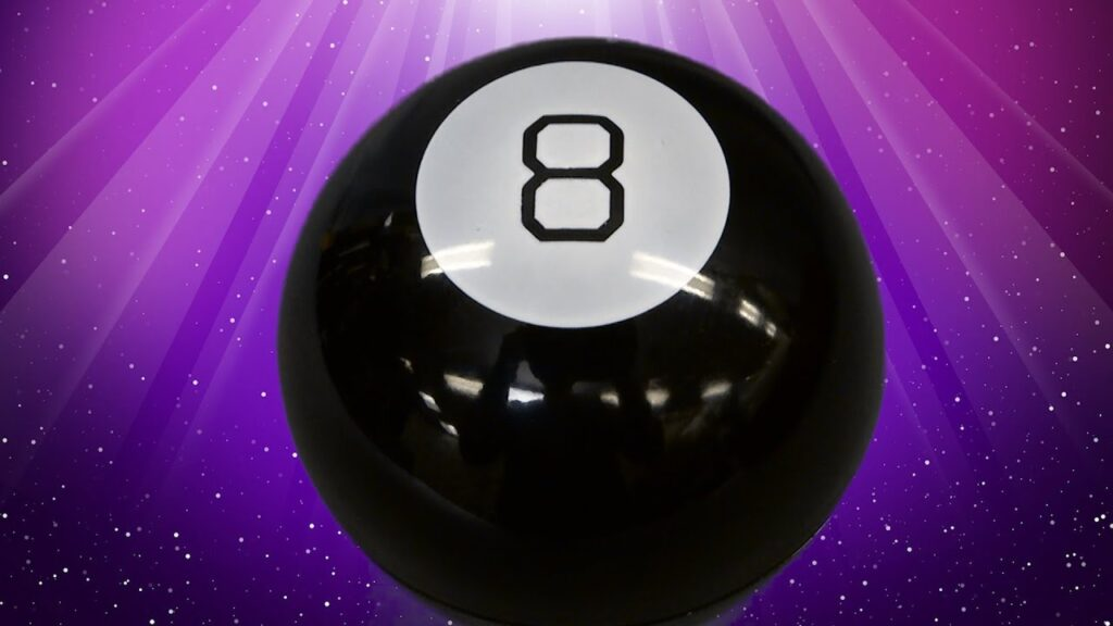 What Shape Is the Message-bearing Die Inside a Magic 8-ball?